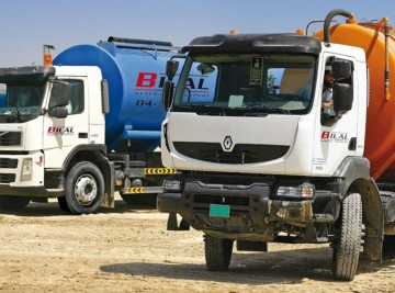 Water and Septic Tankers